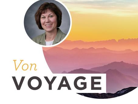 Von Voyage Center Director of Graduate Studies Dr. Susan O'Conner-Von Retires