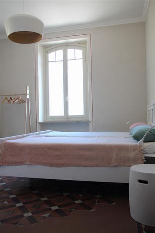 Schlafzimmer mit privatem Bad