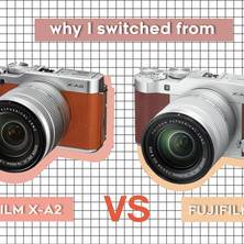 Why I switched from Fujifilm X-A2 to X-A3
