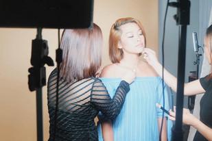 Behind the scenes of Sleek MakeUp's Birthday suit matte lipstick!