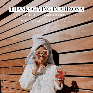 Thanksgiving in Arizona