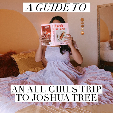 A Guide To An All Girls Trip