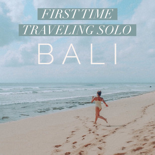 First time traveling solo