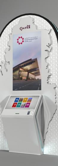Qatar Tourism Authority Concept Kiosk