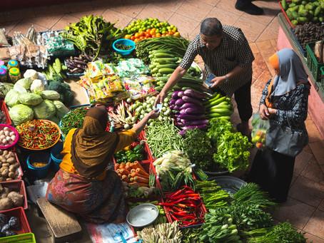 Petite réflexion rapide sur l'alimentation mondiale dans le contexte de la pandémie