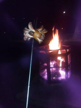 Steckewurschd grillen