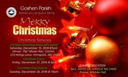 GOSHEN CHRISTMAS 2018 NEW