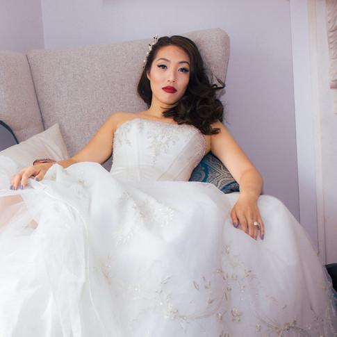 Something Blue - Bridal & Hair Photoshoot