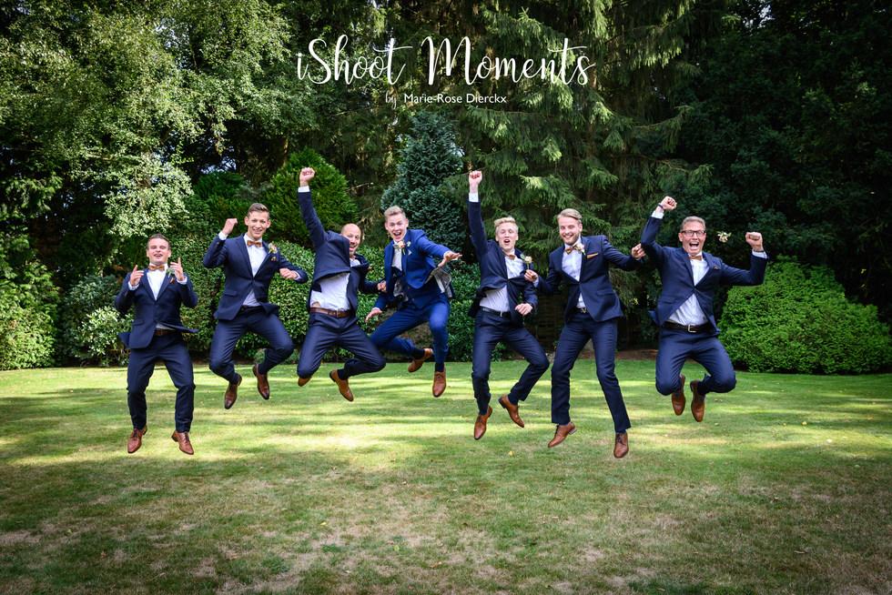 Familiefoto's op je huwelijk