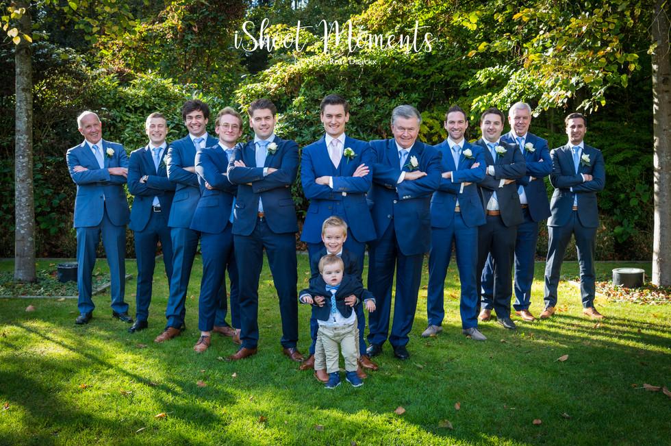 Huwelijks suite op fotoshoot
