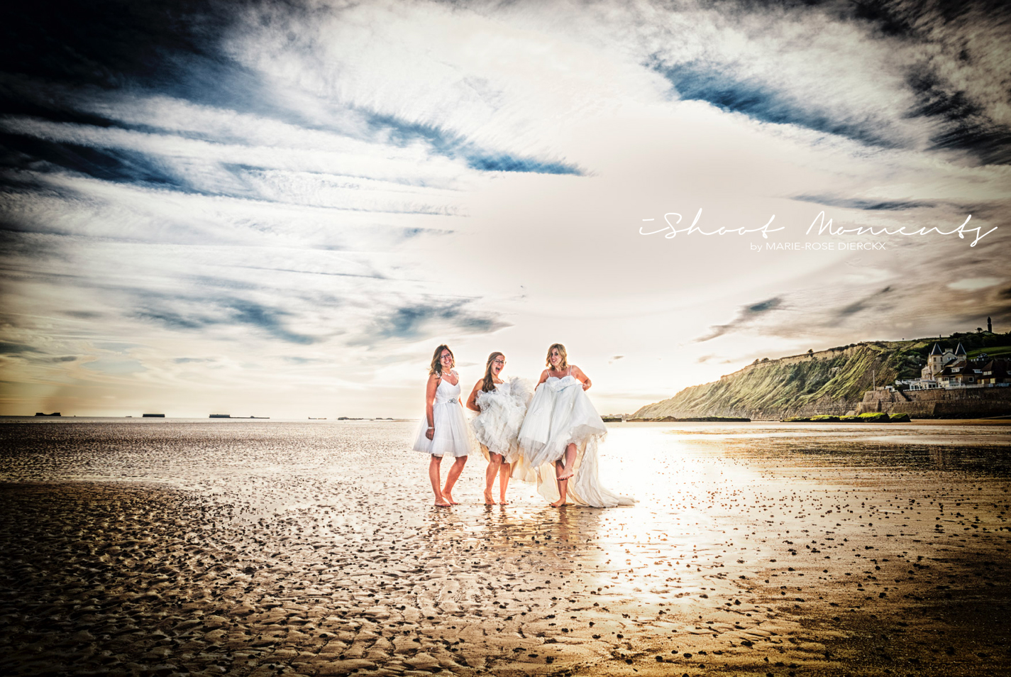Trash the dress, Arromanches