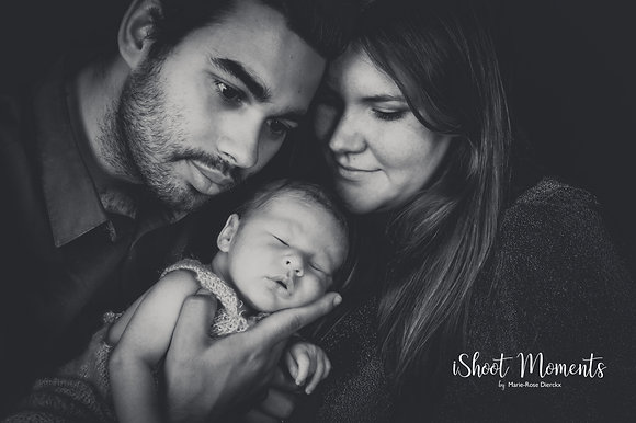 """Gold"" Newborn fotoshoot - 250euro"