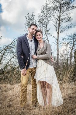 Foto van huwelijk