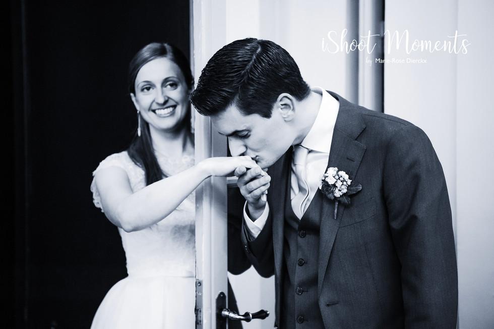 Fotoshoot huwelijk door iShoot Moments