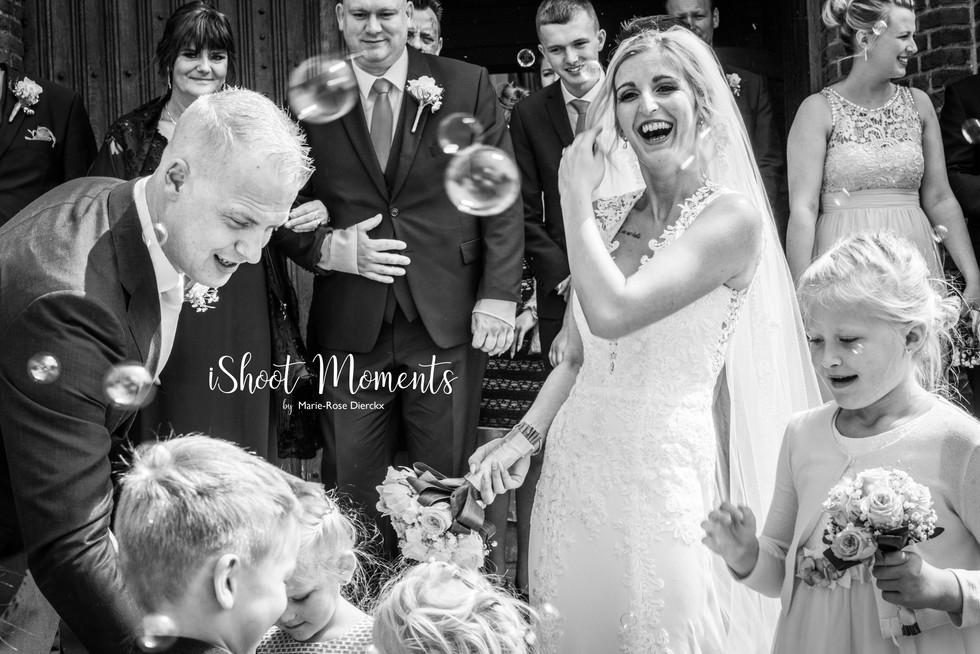 Fotograaf voor huwelijken, iShoot Moments uit Antweroen
