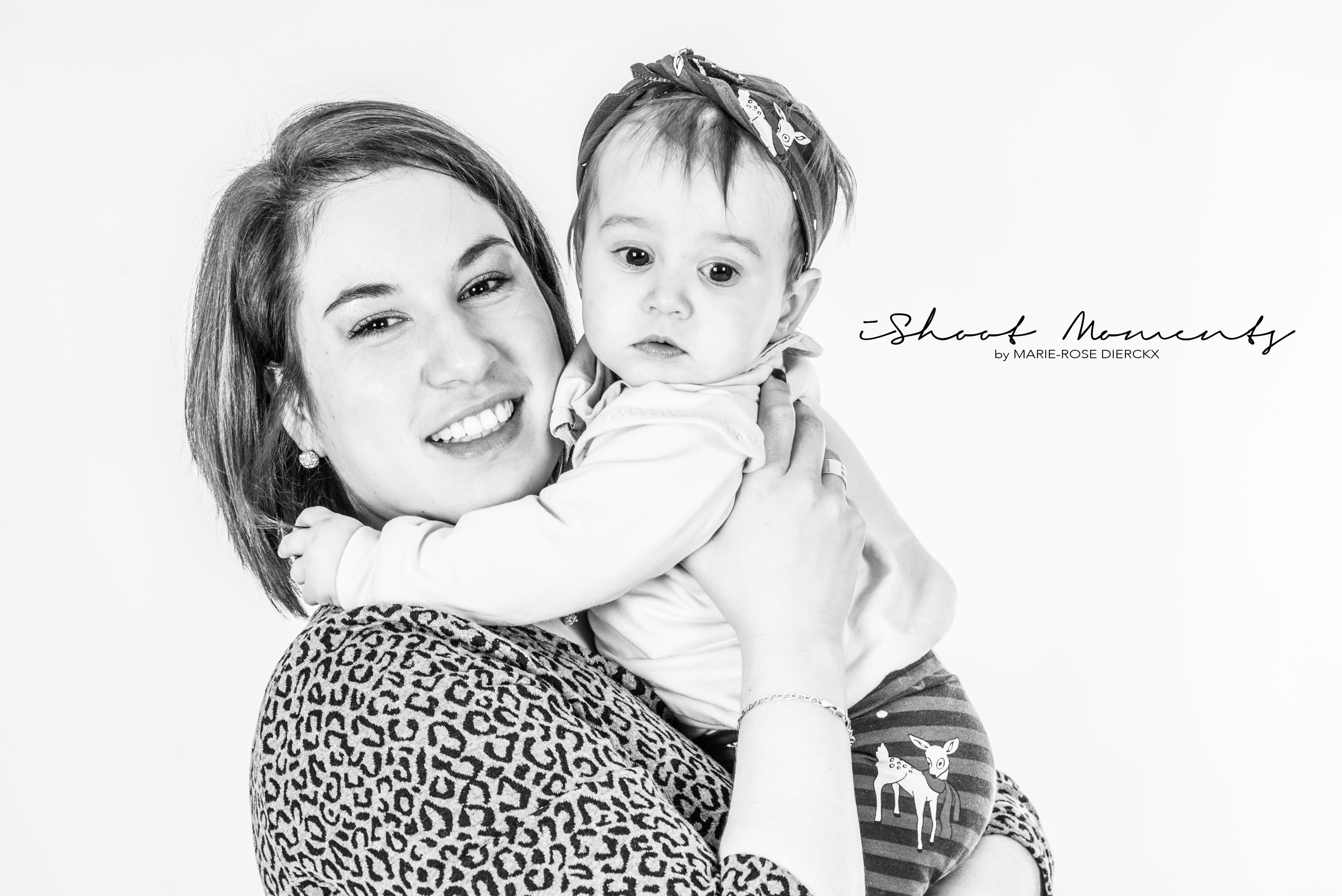 mama met dochter