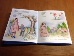geboortekaart met boek