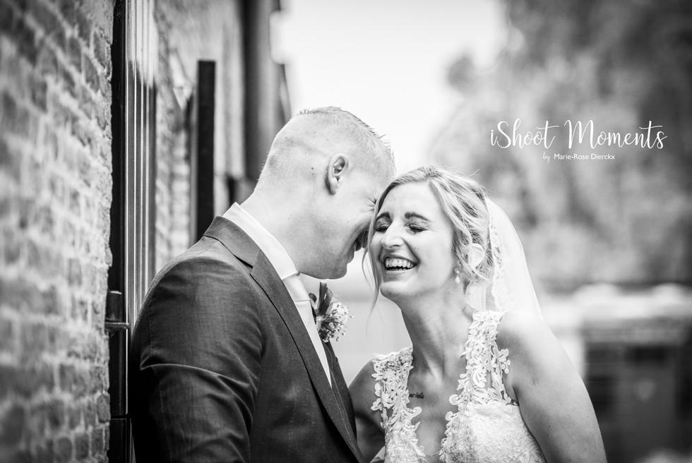 Huwelijksfoto's Birte & Mike
