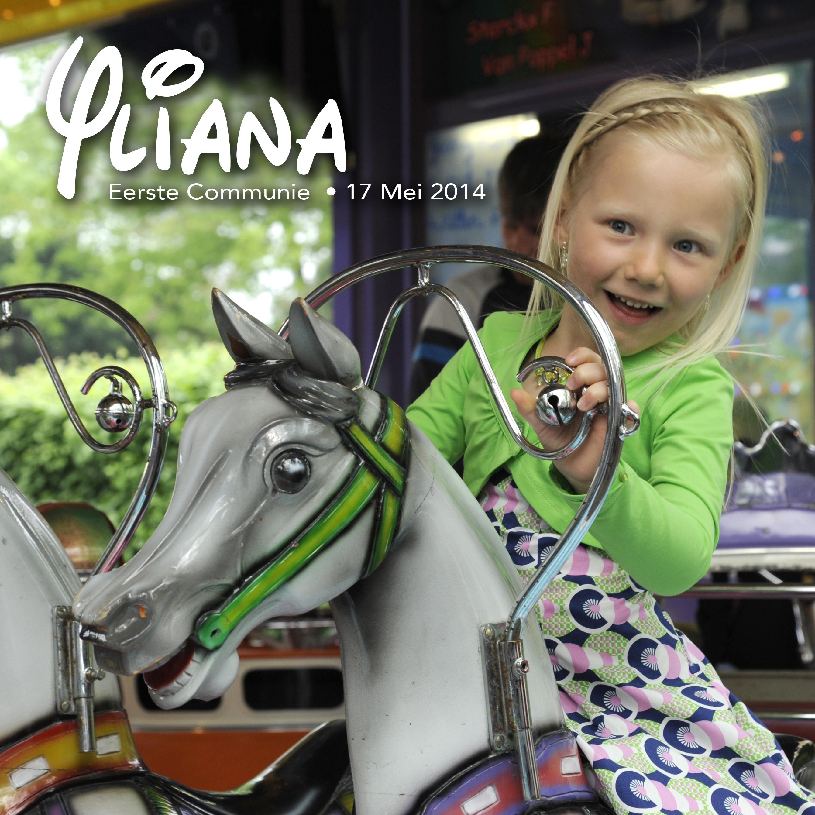 Yliana, eerste communie