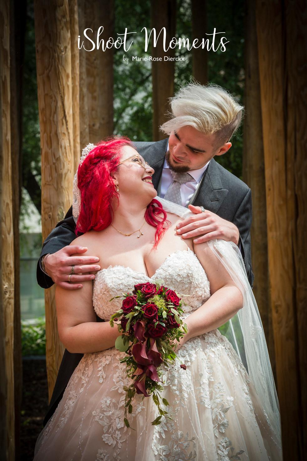 Huwelijksfotoshoot door iShoot Moments