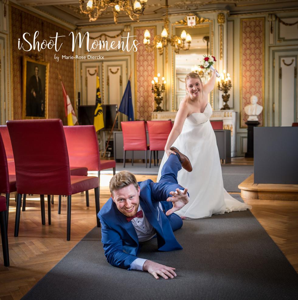 Huwelijksfotograaf, Marie-Rose Dierckx, iShoot Moments te Ekeren.