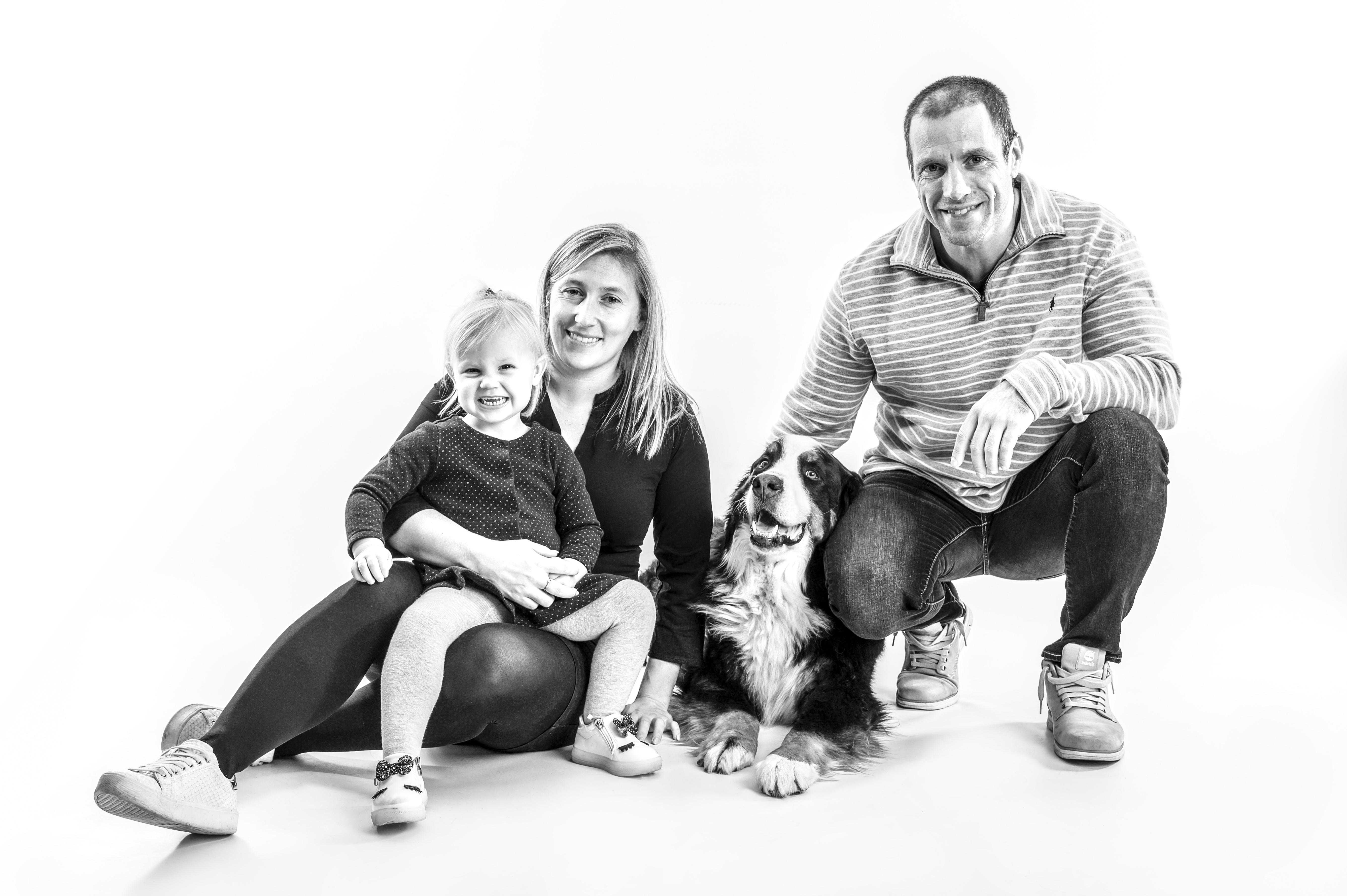 Familieshoot met hond