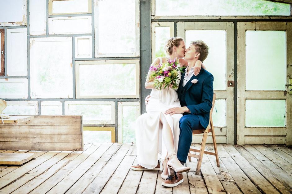 Huwelijksreportage door huwelijksfotograaf iShoot Moments.