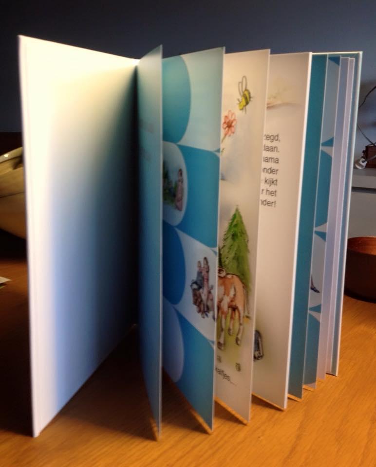 bgeboortekaartje met gastenboek