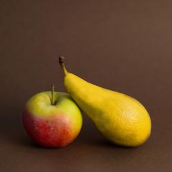 Appelen met citroenen vergelijken.