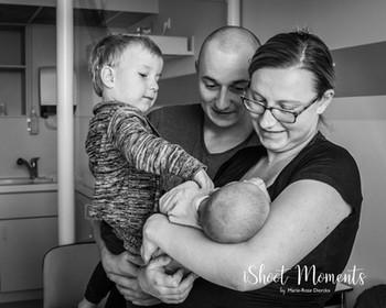 eerste gezinsfoto