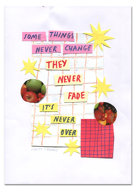 Some Things Never Change Collage