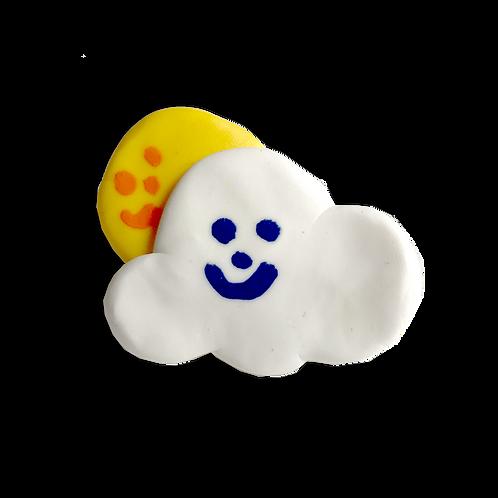 Cloud and Sun Pin