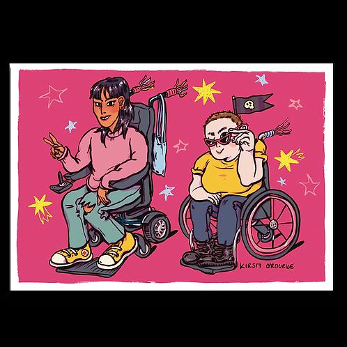 Biker Gang Print