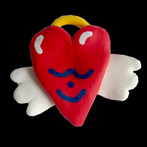 Angel Heart Pin