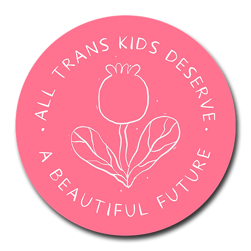 All Trans Kids Vinyl Sticker