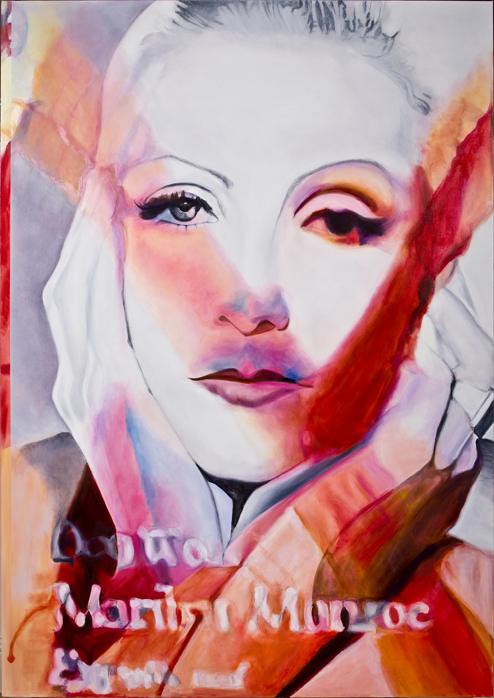 Goddess 2 1600mm x 1300mm Oil on Linen Canvas. Laura Harold