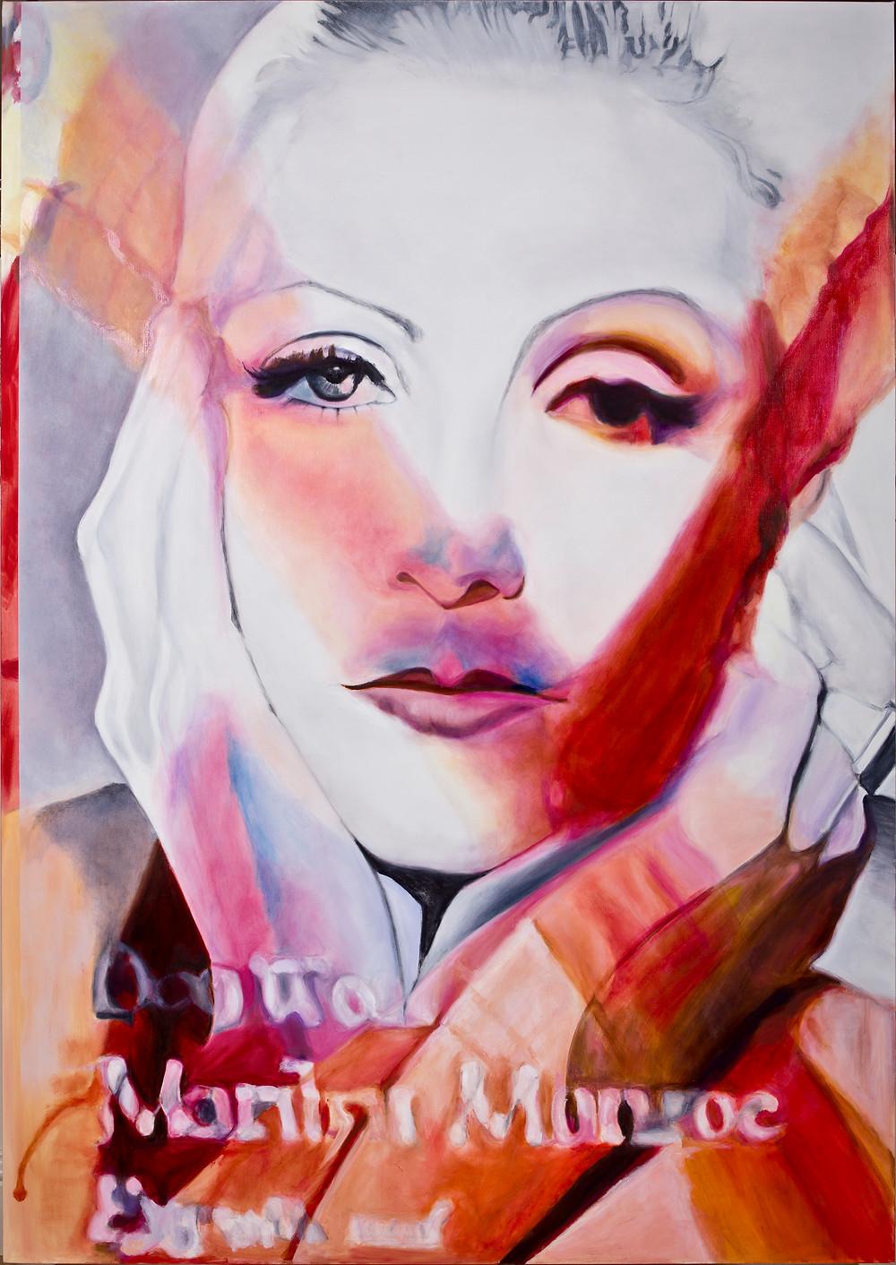 Goddess 2 1600mm x 1300mm Oil on Linen Canvas. Laura Harold