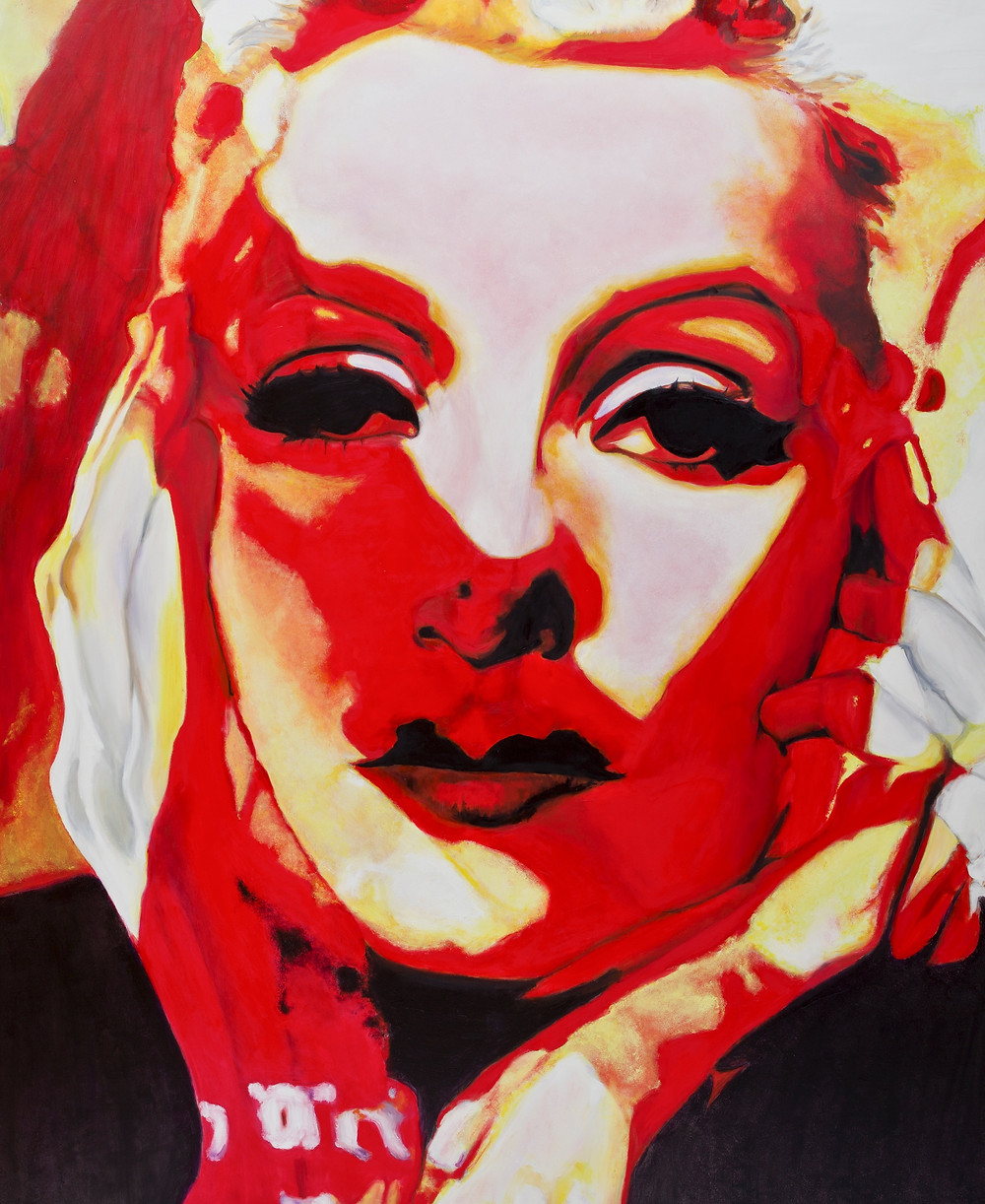 Goddess 1 1600mm x1300mm Oil on Linen Canvas Laura Harold