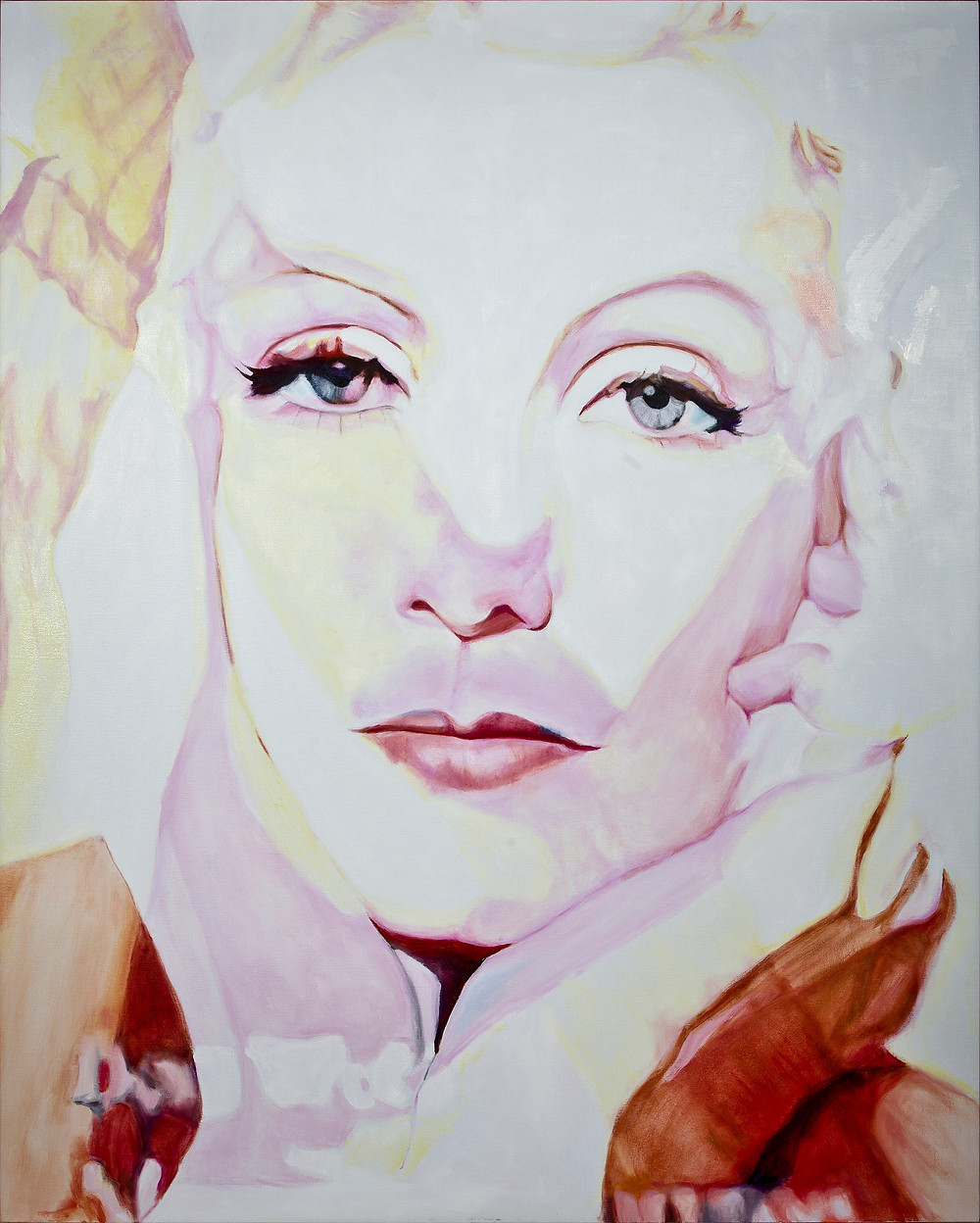 Goddess 3 1600mm x 1300mm Oil on linen canvas Laura Harold