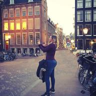 #allisoninamsterdam #sunset photography