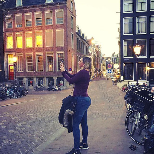 #allisoninamsterdam #sunset photography