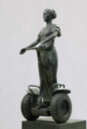 Currus II. h-650mm. bronze. MMX.jpg