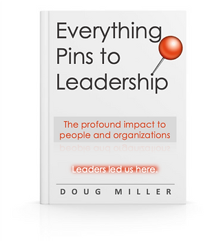 Everything Pins to Leadership (book cove
