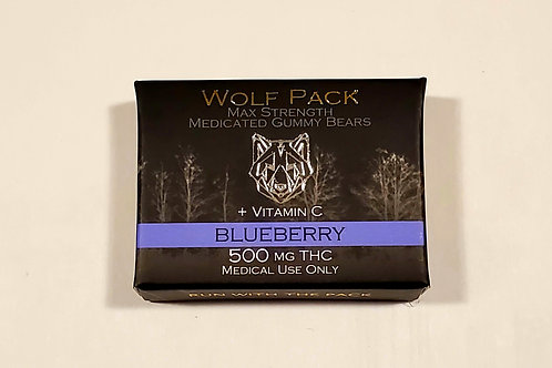 Wolf Pack- Blueberry 500MG