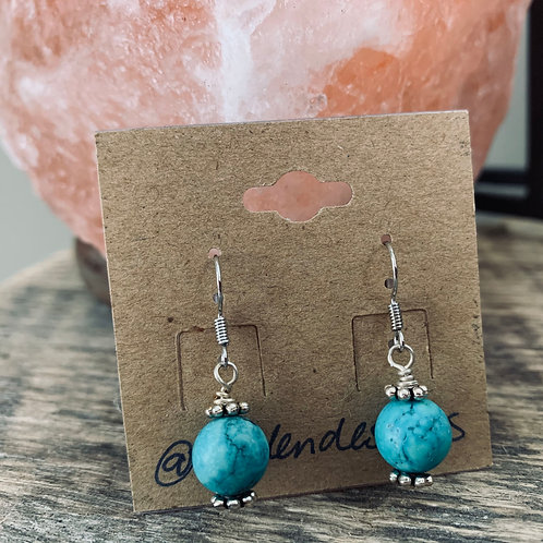 Simple Turquoise Drops
