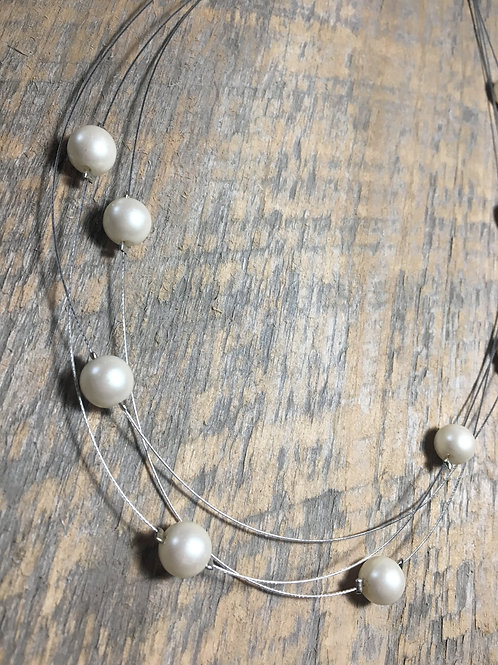 Glass Floating Pearls