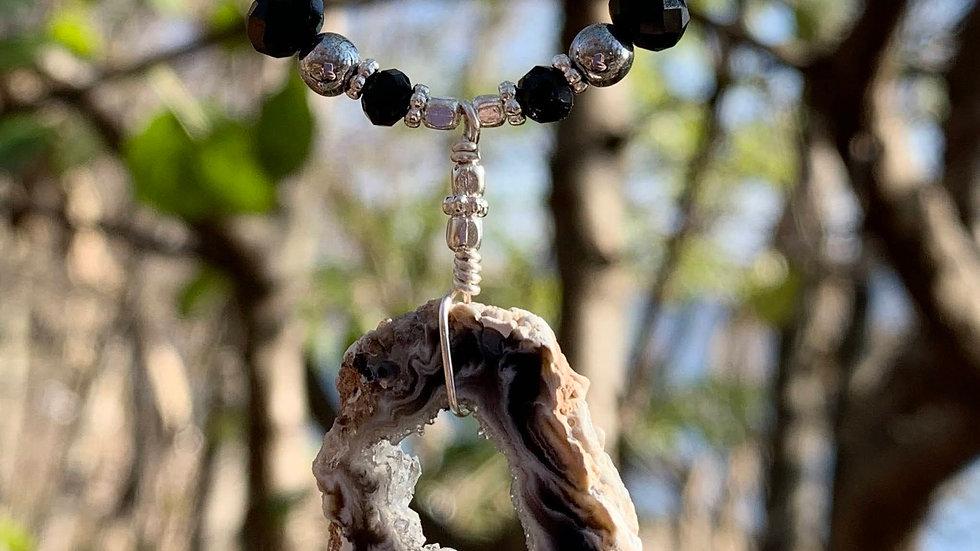 Mini Agate Necklace No. 3