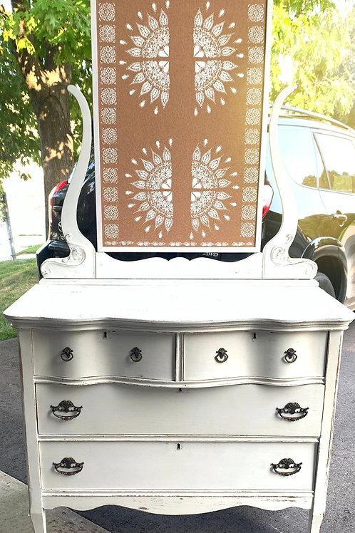 Gorgeous Refinished Antique Dresser