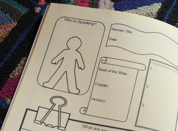 Sermon Notes for Kids