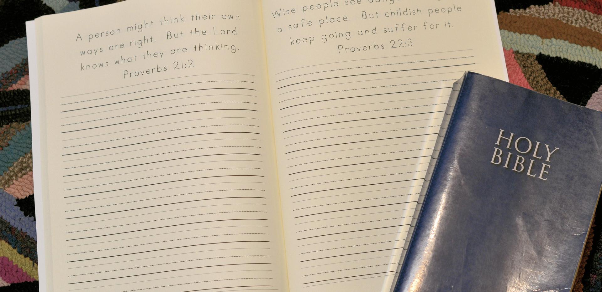 Proverbs Print- Verse Copywork
